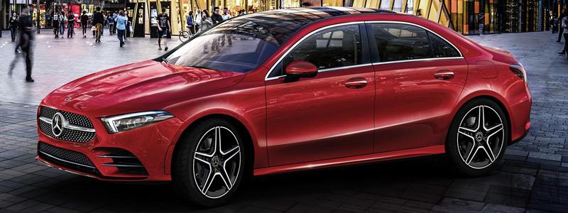 Cars wallpapers Mercedes-Benz A 200 L Sport Sedan China-spec - 2018 - Car wallpapers