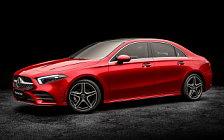 Cars wallpapers Mercedes-Benz A 200 L Sport Sedan China-spec - 2018