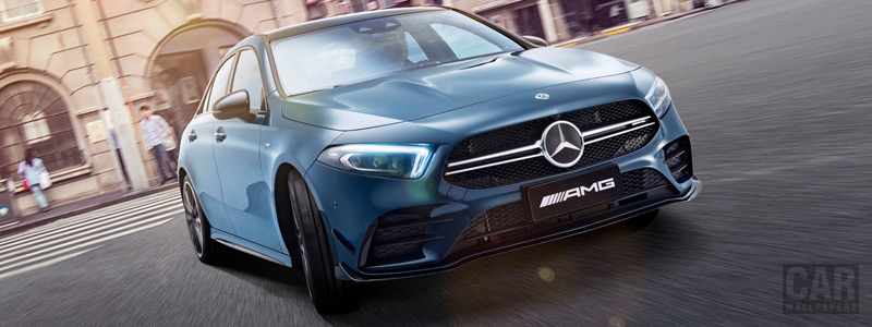 Cars wallpapers Mercedes-AMG A 35 L 4MATIC China-spec - 2019 - Car wallpapers