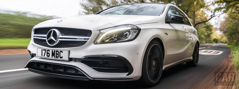 Cars wallpapers Mercedes-AMG A 45 4MATIC UK-spec - 2015 - Car wallpapers