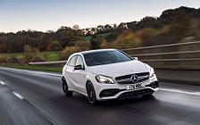 Cars wallpapers Mercedes-AMG A 45 4MATIC UK-spec - 2015
