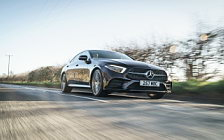 Cars wallpapers Mercedes-Benz CLS 400 d 4MATIC AMG Line UK-spec - 2018