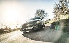 Cars wallpapers Mercedes-Benz CLS 400 d 4MATIC AMG Line UK-spec - 2018