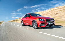 Cars wallpapers Mercedes-AMG E 43 4MATIC UK-spec - 2017