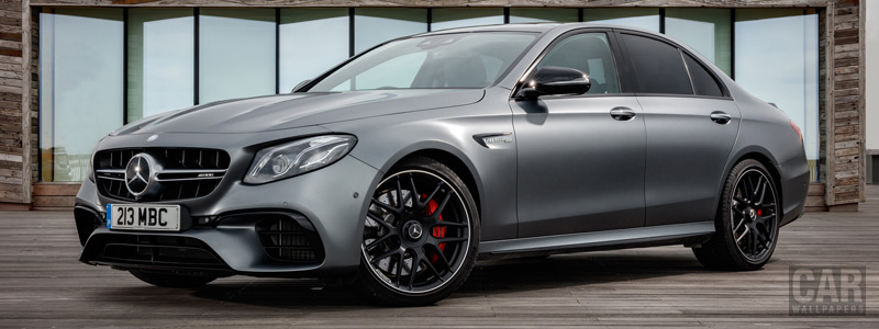 Cars wallpapers Mercedes-AMG E 63 S 4MATIC+ UK-spec - 2017 - Car wallpapers