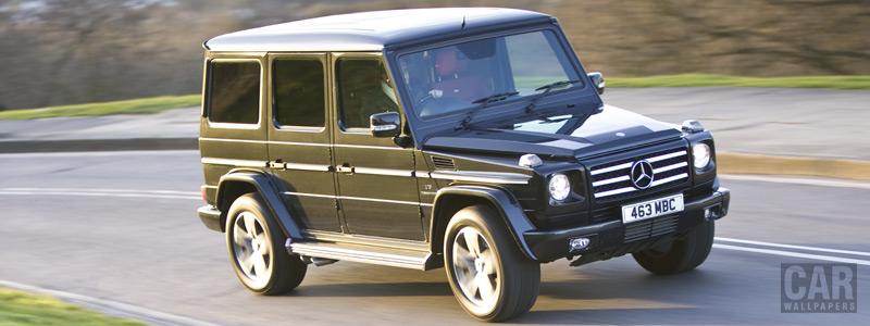 Cars wallpapers Mercedes-Benz G55 Kompressor AMG UK-spec - 2010 - Car wallpapers