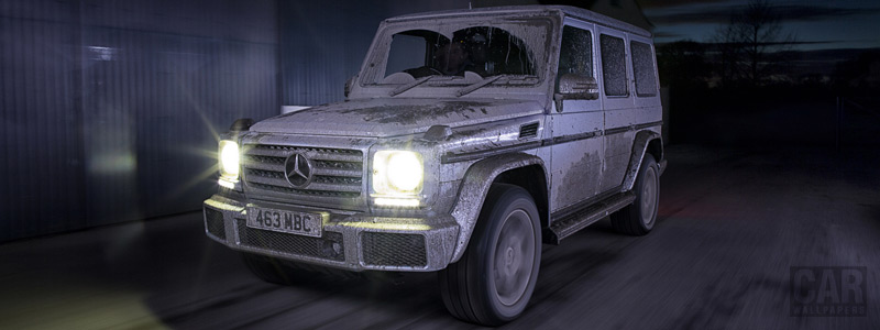 Cars wallpapers Mercedes-Benz G 350 d UK-spec - 2015 - Car wallpapers