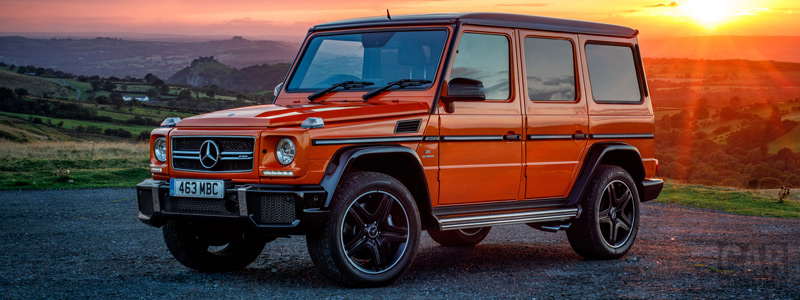 Cars wallpapers Mercedes-AMG G 63 Colour Edition UK-spec - 2016 - Car wallpapers
