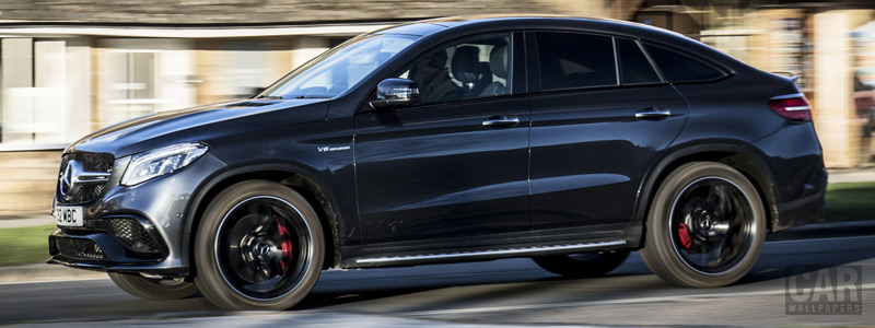 Cars wallpapers Mercedes-AMG GLE 63 S 4MATIC Coupe UK-spec - 2016 - Car wallpapers