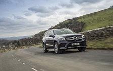 Cars wallpapers Mercedes-Benz GLS 350 d 4MATIC AMG Line UK-spec - 2016