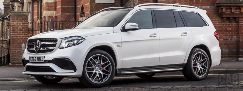 Cars wallpapers Mercedes-AMG GLS 63 4MATIC UK-spec - 2016 - Car wallpapers