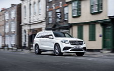 Cars wallpapers Mercedes-AMG GLS 63 4MATIC UK-spec - 2016