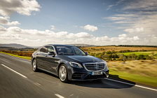 Cars wallpapers Mercedes-Benz S 350 d AMG Line UK-spec - 2017