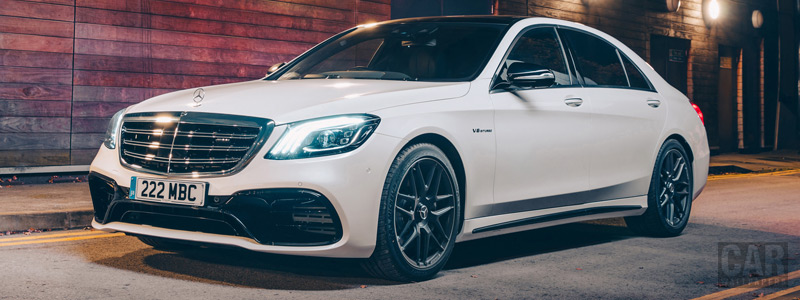 Cars wallpapers Mercedes-AMG S 63 4MATIC+ UK-spec - 2017 - Car wallpapers