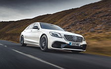 Cars wallpapers Mercedes-AMG S 63 4MATIC+ UK-spec - 2017