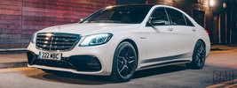 Mercedes-AMG S 63 4MATIC+ UK-spec - 2017