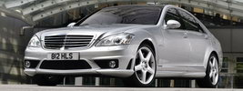 Mercedes-Benz S63 AMG UK-spec - 2007