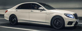 Mercedes-Benz S63 AMG UK-spec - 2014