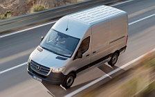 Cars wallpapers Mercedes-Benz Sprinter Panel Van UK-spec - 2018