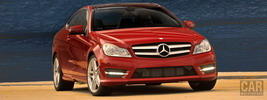 Mercedes-Benz C250 Coupe US-spec - 2012