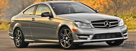 Mercedes-Benz C250 Coupe Sport US-spec - 2013