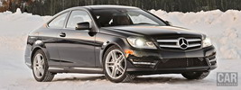 Mercedes-Benz C350 4MATIC Coupe US-spec - 2013