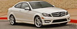 Mercedes-Benz C350 Coupe US-spec - 2013