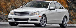 Mercedes-Benz C300 4MATIC Luxury US-spec - 2012