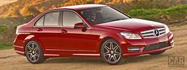 Mercedes-Benz C350 Sport Package Plus US-spec - 2013