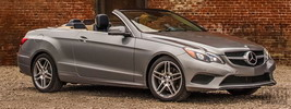 Mercedes-Benz E350 Cabriolet US-spec - 2014
