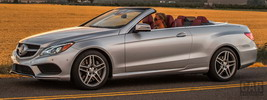 Mercedes-Benz E550 Cabriolet AMG Sports Package US-spec - 2014
