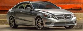Mercedes-Benz E350 4MATIC Coupe US-spec - 2014