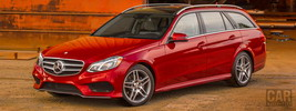Mercedes-Benz E350 4MATIC AMG Sports Package Wagon US-spec - 2014