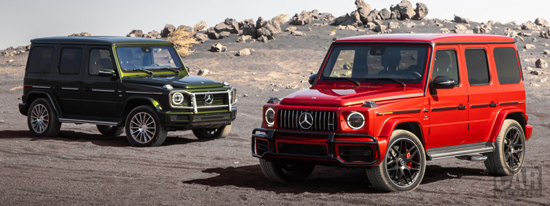 Cars wallpapers Mercedes-Benz G 550 and Mercedes-AMG G 63 US-spec - 2018 - Car wallpapers