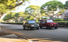 Cars wallpapers Mercedes-Benz G 550 and Mercedes-AMG G 63 US-spec - 2018
