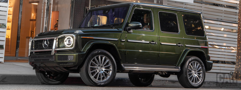 Cars wallpapers Mercedes-Benz G 550 US-spec - 2018 - Car wallpapers