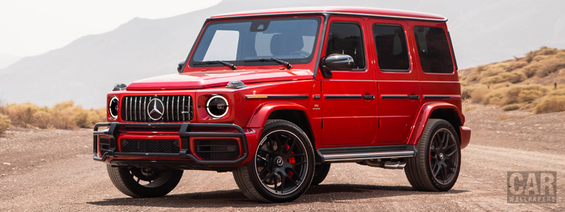 Cars wallpapers Mercedes-AMG G 63 US-spec - 2018 - Car wallpapers