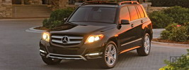 Mercedes-Benz GLK350 4MATIC US-spec - 2013