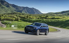 Cars wallpapers Mercedes-Benz GLS 580 4MATIC AMG Line (Cavansite Blue) US-spec - 2019