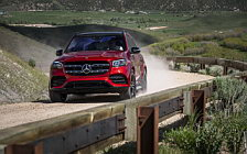 Cars wallpapers Mercedes-Benz GLS 580 4MATIC AMG Line (Designo Cardinal Red) US-spec - 2019