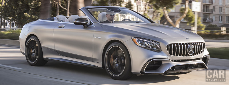 Cars wallpapers Mercedes-AMG S 63 4MATIC+ Cabriolet US-spec - 2018 - Car wallpapers