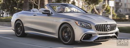 Mercedes-AMG S 63 4MATIC+ Cabriolet US-spec - 2018