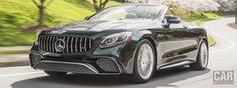 Mercedes-AMG S 65 Cabriolet US-spec - 2018