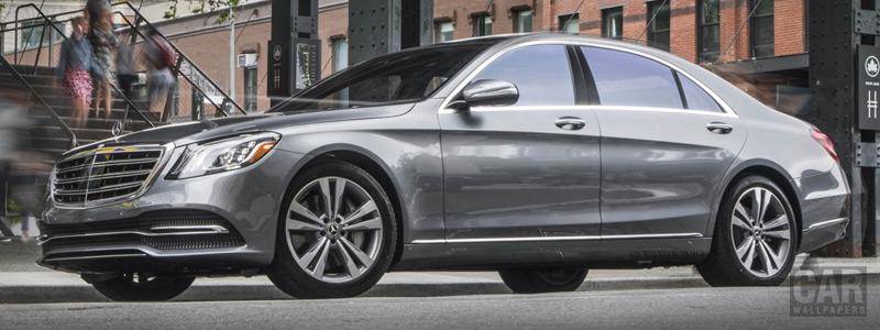Cars wallpapers Mercedes-Benz S 450 4MATIC US-spec - 2017 - Car wallpapers