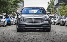 Cars wallpapers Mercedes-Benz S 450 4MATIC US-spec - 2017