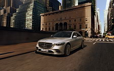 Cars wallpapers Mercedes-Benz S-class AMG Line US-spec - 2020
