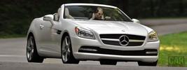 Mercedes-Benz SLK350 US-spec - 2012