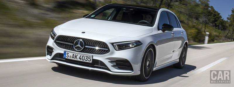 Cars wallpapers Mercedes-Benz A 200 AMG Line - 2018 - Car wallpapers