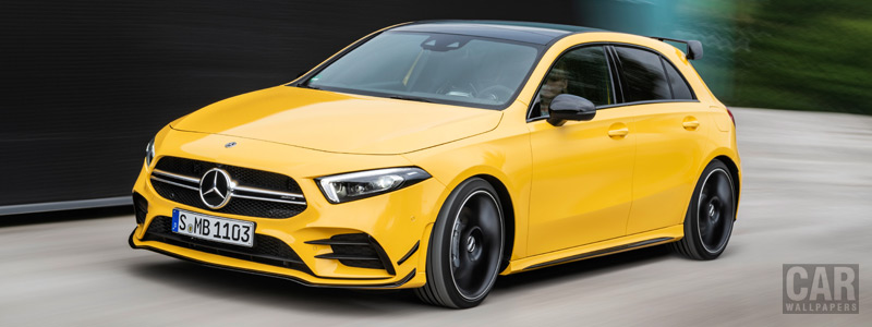Cars wallpapers Mercedes-AMG A 35 4MATIC - 2018 - Car wallpapers