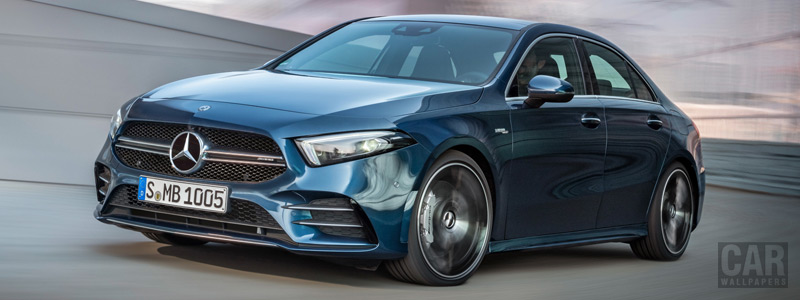 Cars wallpapers Mercedes-AMG A 35 4MATIC Sedan - 2019 - Car wallpapers